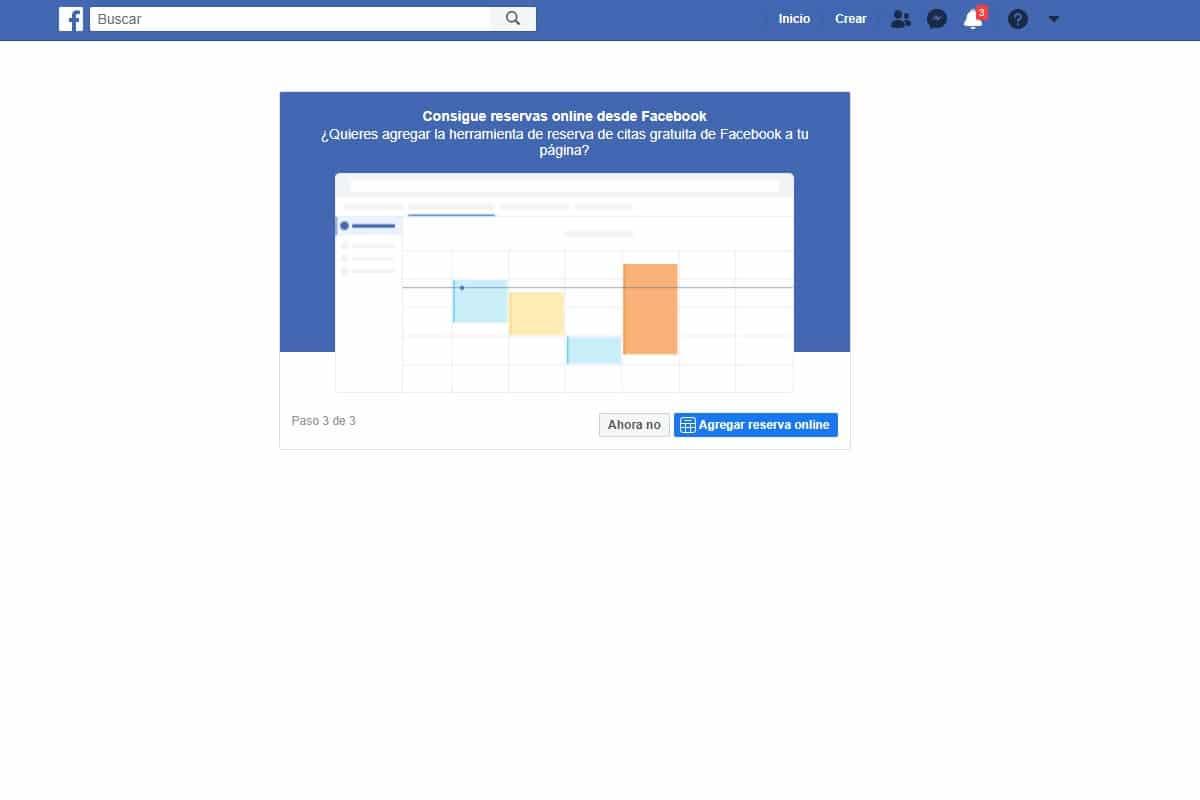 Paso 4 para crear una pagina para empresas en Facebook