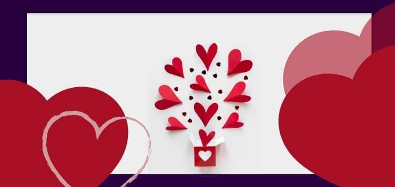 Ideas para enamorar a tus clientes en San Valentín