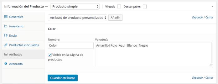 Crear un nuevo producto en WooCommerce