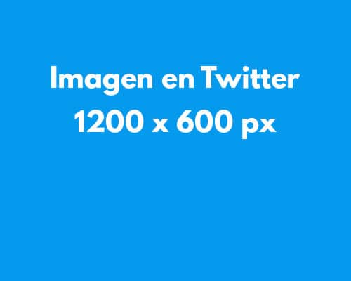 Tamaño de imágenes en redes sociales: imágenes en Twitter